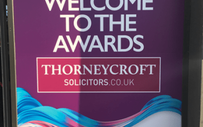 Winston Solicitors attend the Modern Law Conveyancing Award 2019