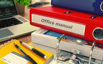 follow your own office procedures