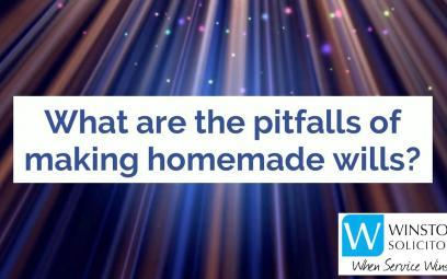 Embedded thumbnail for What are the pitfalls of making home made wills?