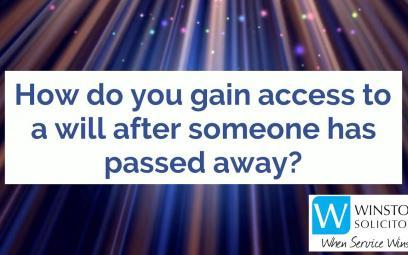 Embedded thumbnail for How do you gain access to a will after someone has passed away?