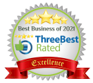 three best rated business of 2021